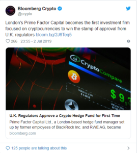 london cryptocurrency hedge fund
