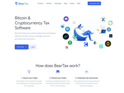 best cryptocurrency tax application
